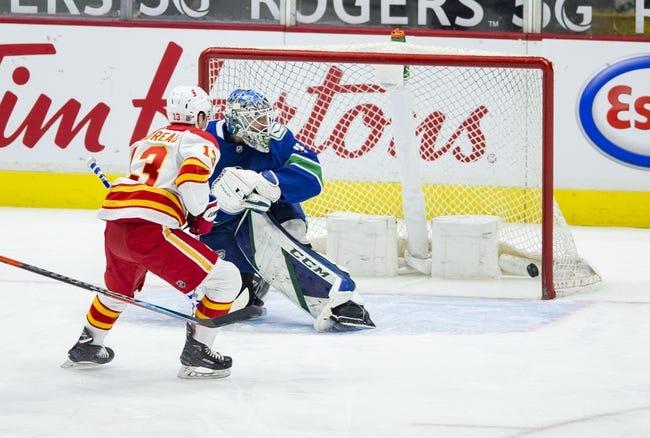 Vancouver Canucks vs Calgary Flames NHL Picks, Odds, Predictions 2/13/21