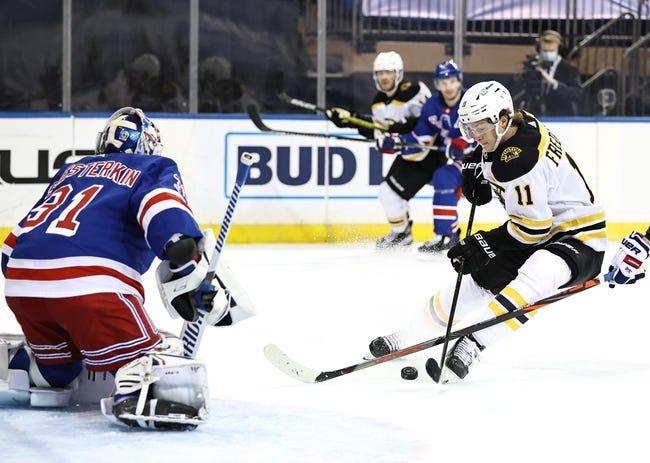 New York Rangers vs Boston Bruins NHL Picks, Odds, Predictions 2/26/21