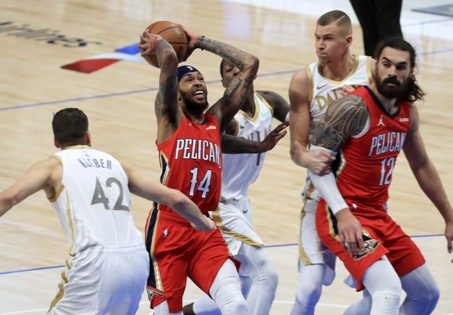 Dallas Mavericks at New Orleans Pelicans - 3/27/21 NBA Picks and Prediction