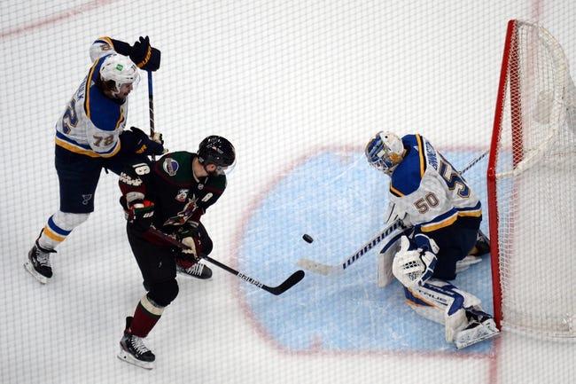 Arizona Coyotes vs St. Louis Blues NHL Picks, Odds, Predictions 2/13/21