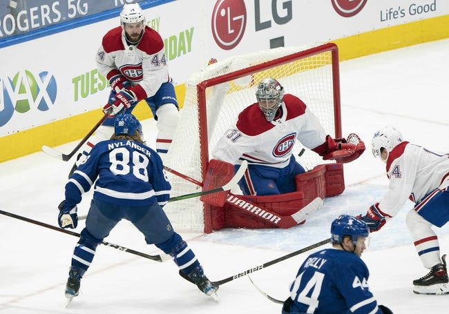 Montreal Canadiens vs Toronto Maple Leafs NHL Picks, Odds, Predictions 2/20/21