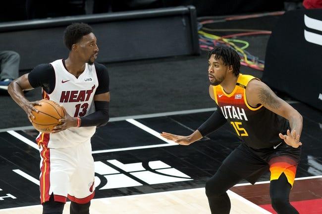 Utah Jazz at Miami Heat - 2/26/21 NBA Picks and Prediction
