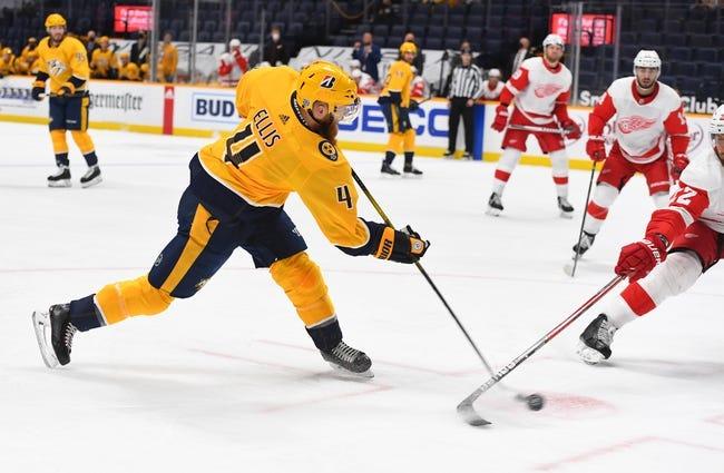 Detroit Red Wings vs Nashville Predators NHL Picks, Odds, Predictions 2/23/21