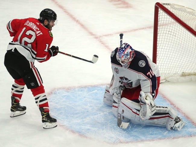 Columbus Blue Jackets vs Chicago Blackhawks NHL Picks, Odds, Predictions 2/23/21
