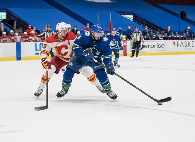 Vancouver Canucks vs Calgary Flames NHL Picks, Odds, Predictions 2/15/21
