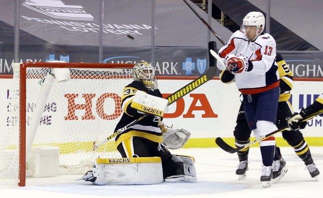 Pittsburgh Penguins vs Washington Capitals NHL Picks, Odds, Predictions 2/16/21