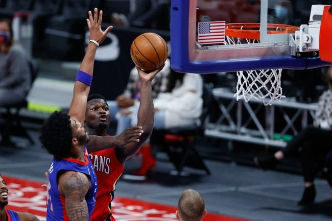 Detroit Pistons at New Orleans Pelicans - 2/24/21 NBA Picks and Prediction
