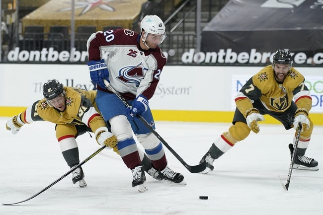 Vegas Golden Knights vs Colorado Avalanche NHL Picks, Odds, Predictions 2/16/21