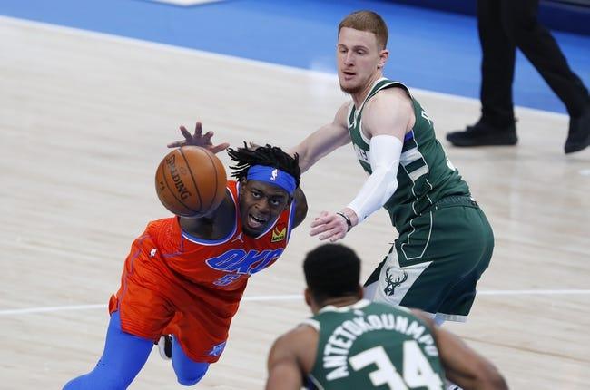 Oklahoma City Thunder at Milwaukee Bucks - 2/19/21 NBA Picks and Prediction