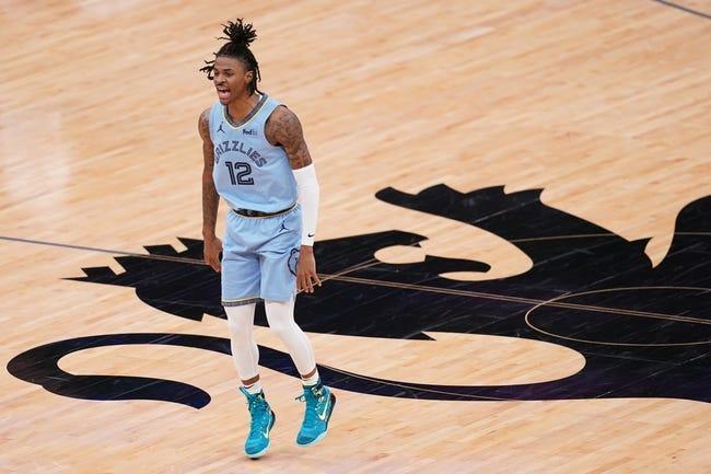 Detroit Pistons at Memphis Grizzlies - 2/19/21 NBA Picks and Prediction