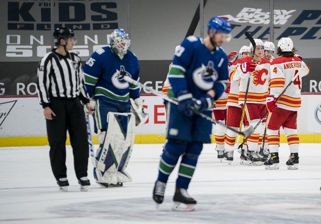 Calgary Flames vs Vancouver Canucks NHL Picks, Odds, Predictions 2/17/21