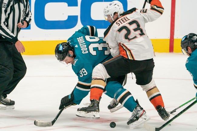 Anaheim Ducks vs San Jose Sharks NHL Picks, Odds, Predictions 3/12/21