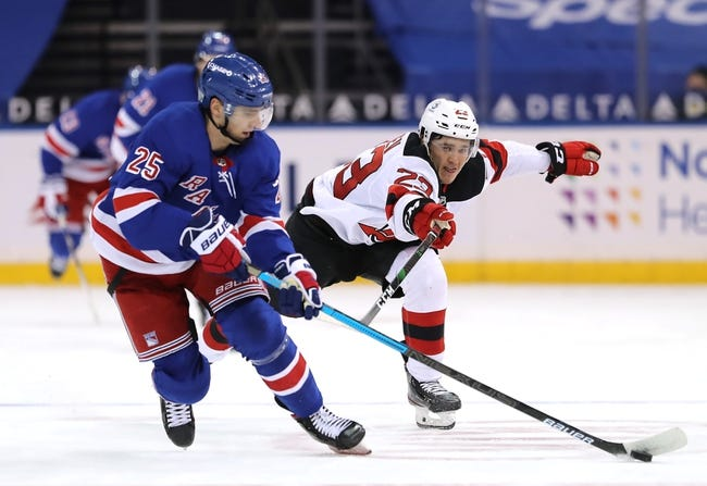 New Jersey Devils vs New York Rangers NHL Picks, Odds, Predictions 3/4/21