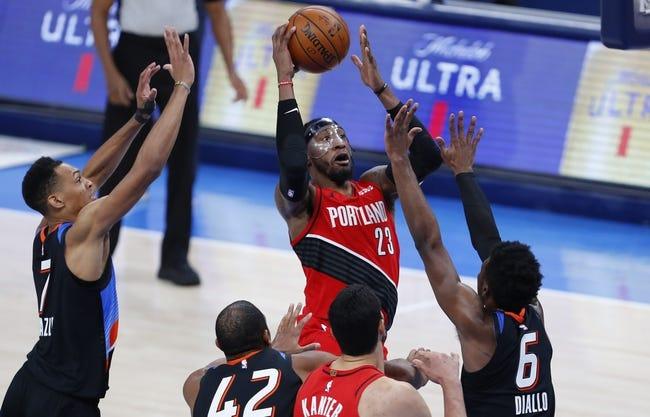 Oklahoma City Thunder at Portland Trail Blazers - 4/3/21 NBA Picks and Prediction