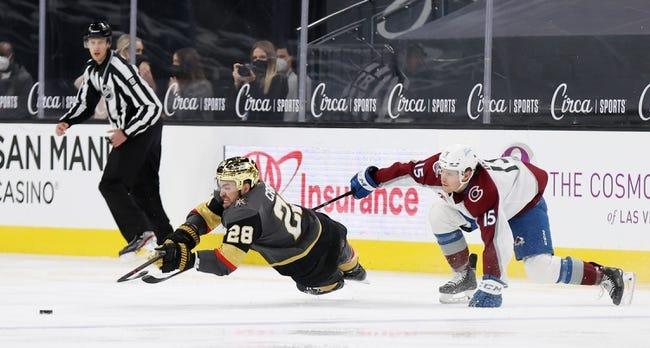 Colorado Avalanche vs Vegas Golden Knights NHL Picks, Odds, Predictions 2/20/21