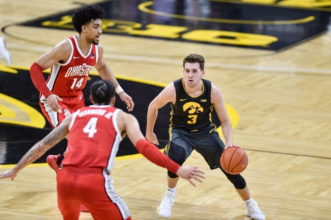Iowa at Ohio State: 2/28/21 College Basketball Picks and Predictions