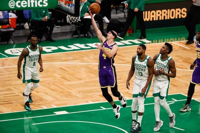 Boston Celtics at Los Angeles Lakers - 4/15/21 NBA Picks and Prediction