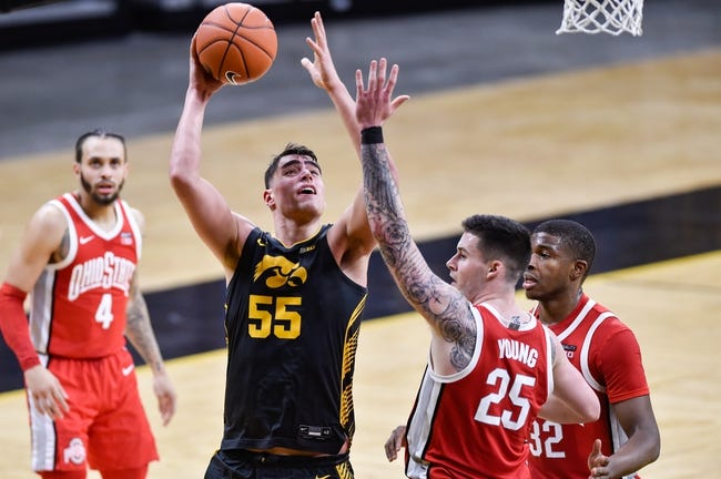 Ohio State vs Iowa College Basketball Picks, Odds, Predictions 2/28/21