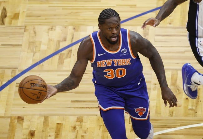 Golden State Warriors at New York Knicks - 2/23/21 NBA Picks and Prediction