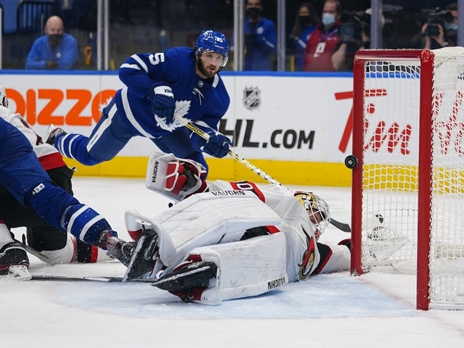 Toronto Maple Leafs vs Ottawa Senators NHL Picks, Odds, Predictions 2/18/21