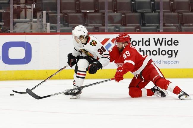 Chicago Blackhawks vs Detroit Red Wings NHL Picks, Odds, Predictions 2/27/21