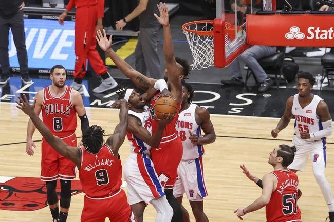 Chicago Bulls at Detroit Pistons - 3/21/21 NBA Picks and Prediction