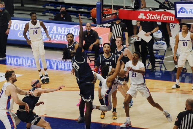 Utah State at Boise State 2/19/21 College Basketball Picks and Predictions