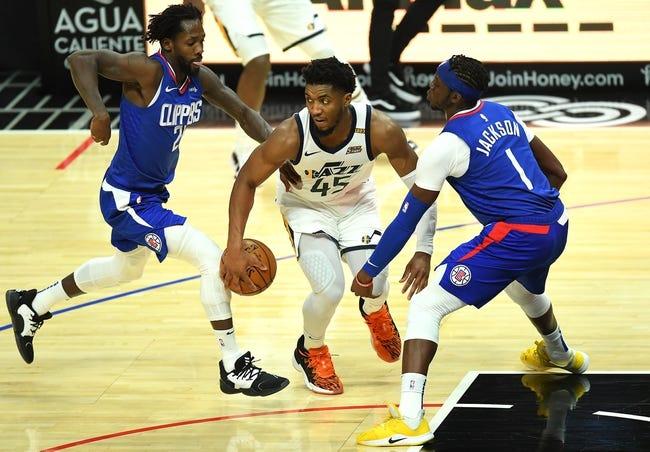 Utah Jazz at Los Angeles Clippers - 2/19/21 NBA Picks and Prediction