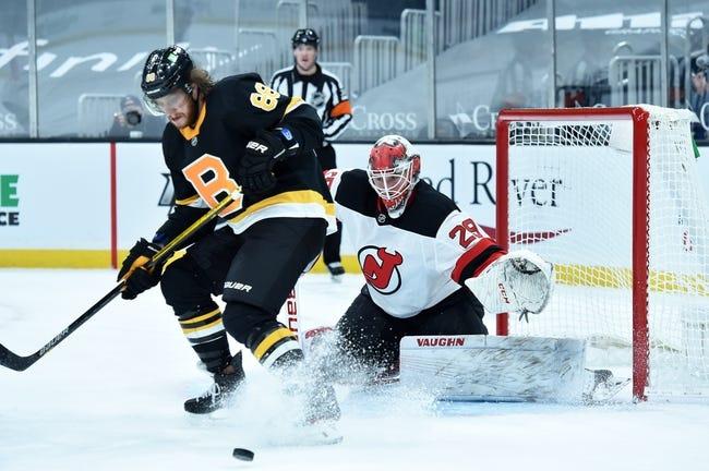 Boston Bruins vs New Jersey Devils NHL Picks, Odds, Predictions 3/7/21
