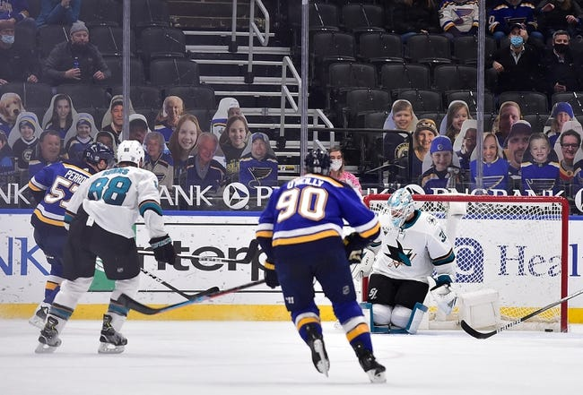 St. Louis Blues vs San Jose Sharks NHL Picks, Odds, Predictions 2/20/21