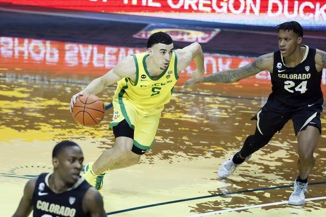 Utah at Oregon 2/20/21 College Basketball Picks and Predictions