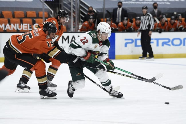 Anaheim Ducks vs Minnesota Wild NHL Picks, Odds, Predictions 2/20/21