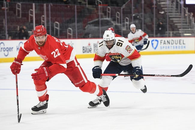 Detroit Red Wings vs Florida Panthers NHL Picks, Odds, Predictions 2/20/21