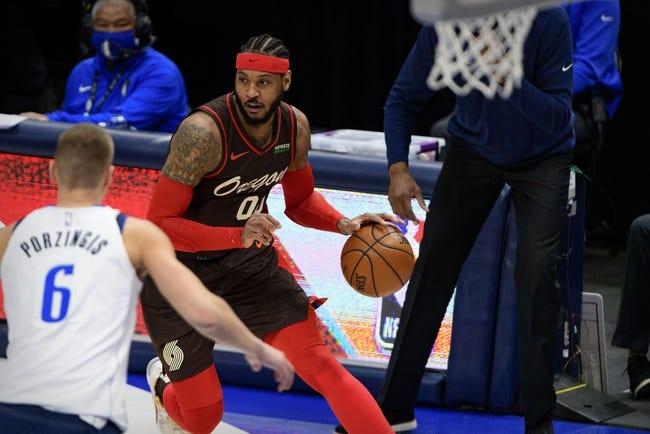 Dallas Mavericks at Portland Trail Blazers - 3/19/21 NBA Picks and Prediction