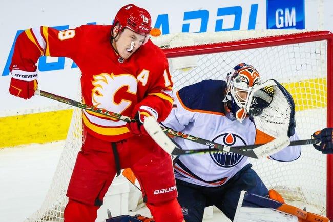 Edmonton Oilers vs Calgary Flames NHL Picks, Odds, Predictions 2/20/21