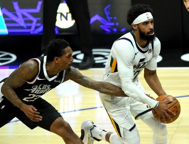 Los Angeles Clippers at Utah Jazz - 6/8/21 NBA Picks and Prediction