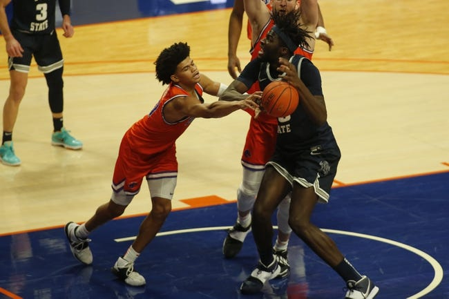 Utah State at UNLV - 3/11/21 College Basketball Picks and Prediction