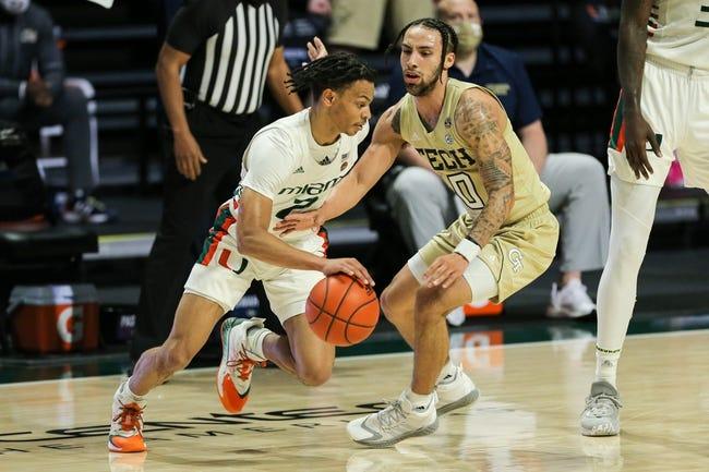 Miami vs Florida State College Basketball Picks, Odds, Predictions 2/24/21