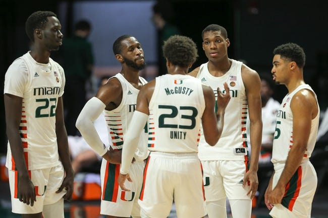 Florida State at Miami: 2/24/21 College Basketball Picks and Predictions