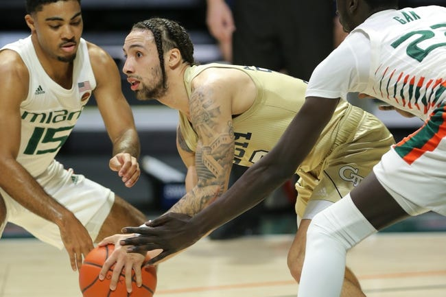 Miami at Georgia Tech 3/11/21 College Basketball Picks and Predictions