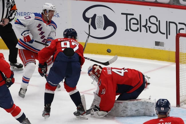Washington Capitals vs New York Rangers NHL Picks, Odds, Predictions 3/19/21