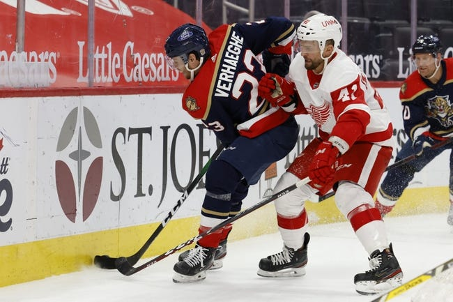 Florida Panthers vs Detroit Red Wings NHL Picks, Odds, Predictions 3/30/21
