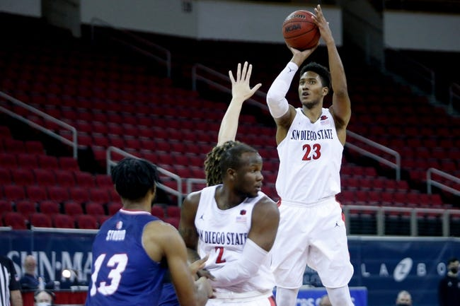 Boise State at San Diego State - 2/25/21 College Basketball Picks and Prediction