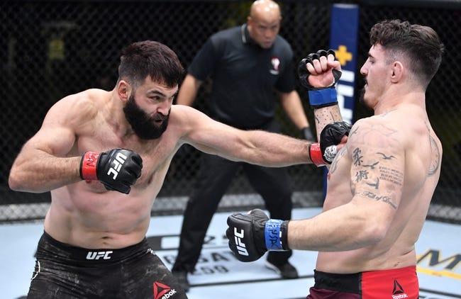 UFC Fight Night 191: Tom Aspinall vs. Sergey Spivak Picks  and Predictions