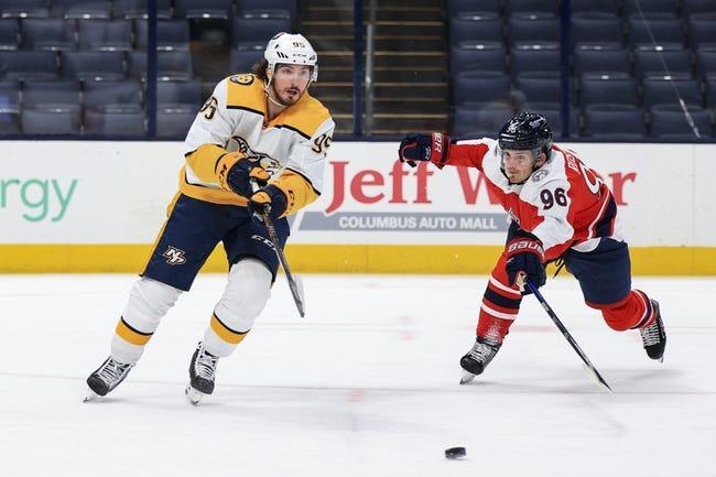 Nashville Predators vs Columbus Blue Jackets NHL Picks, Odds, Predictions 2/27/21