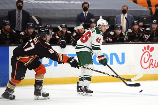 Minnesota Wild vs Anaheim Ducks NHL Picks, Odds, Predictions 3/22/21