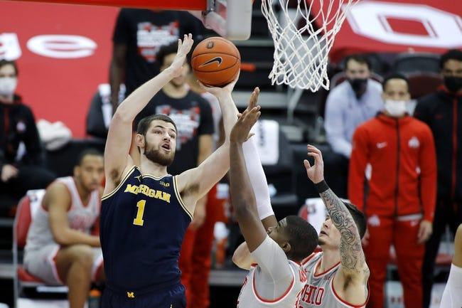 Ohio State at Michigan: 3/13/21 College Basketball Picks and Prediction