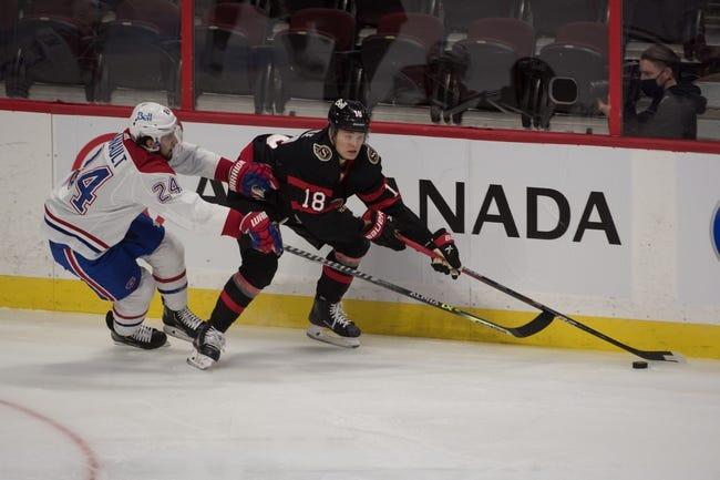Ottawa Senators vs Montreal Canadiens NHL Picks, Odds, Predictions 2/23/21