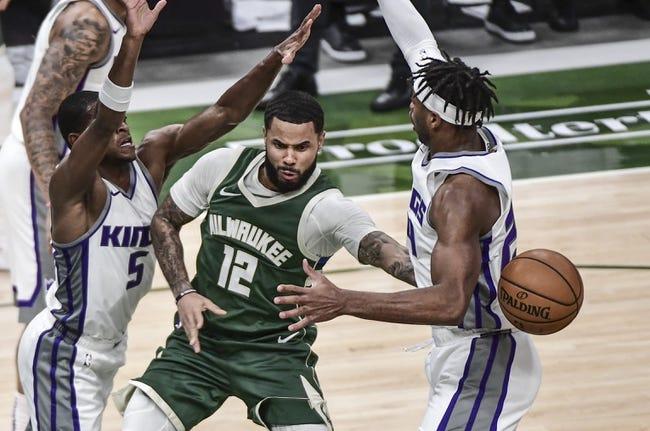 Milwaukee Bucks at Sacramento Kings - 4/3/21 NBA Picks and Prediction