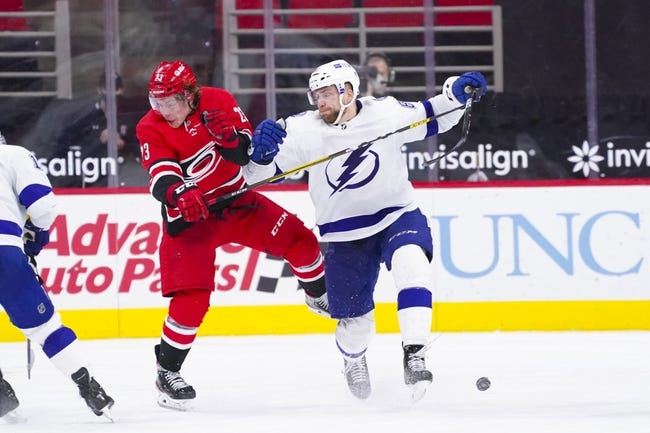 Carolina Hurricanes at Tampa Bay Lightning - 2/24/21 NHL Picks and Prediction